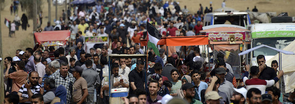 Great March of Return protest, Gaza Strip, 14.5.2018