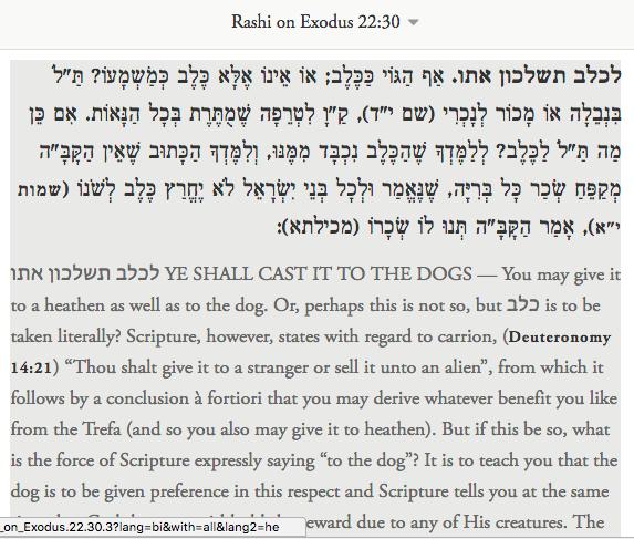 rashi exodus 2230