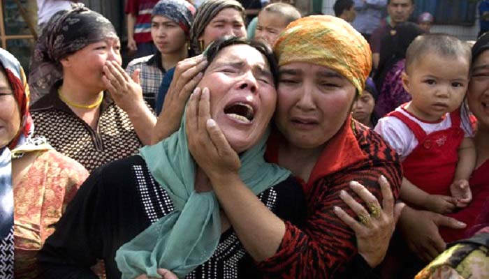 Masyarakat muslim Uighur di Xinjiang, RRT. (Foto: Radio Free Asia)